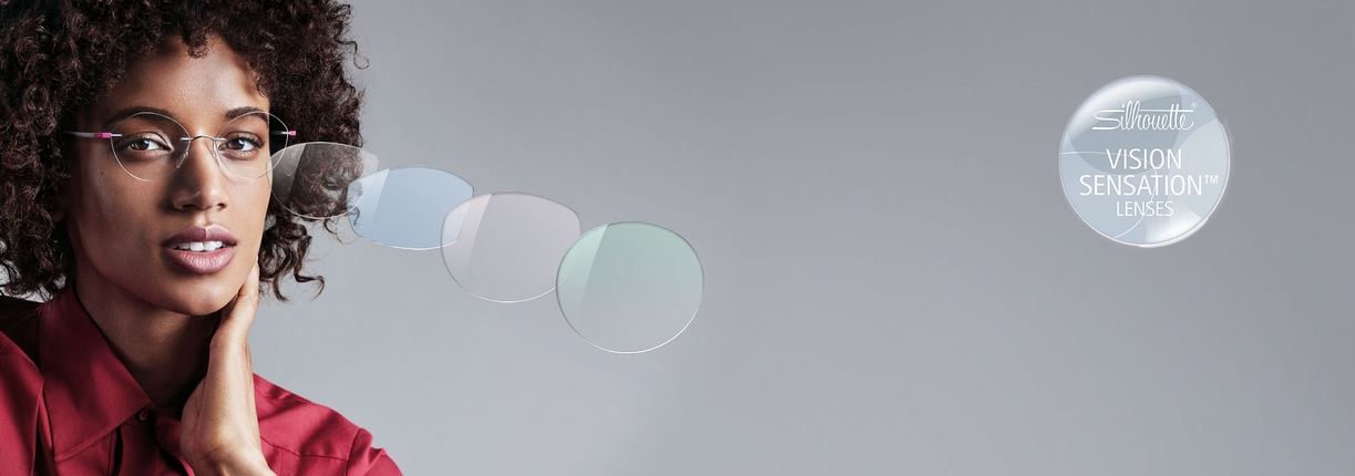 Eyewear offering a wide choice in terms of lens shape and colouring