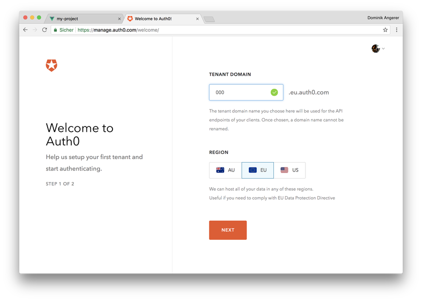 How to add Auth0 Authentication to Vue js App in 7 steps  - Storyblok
