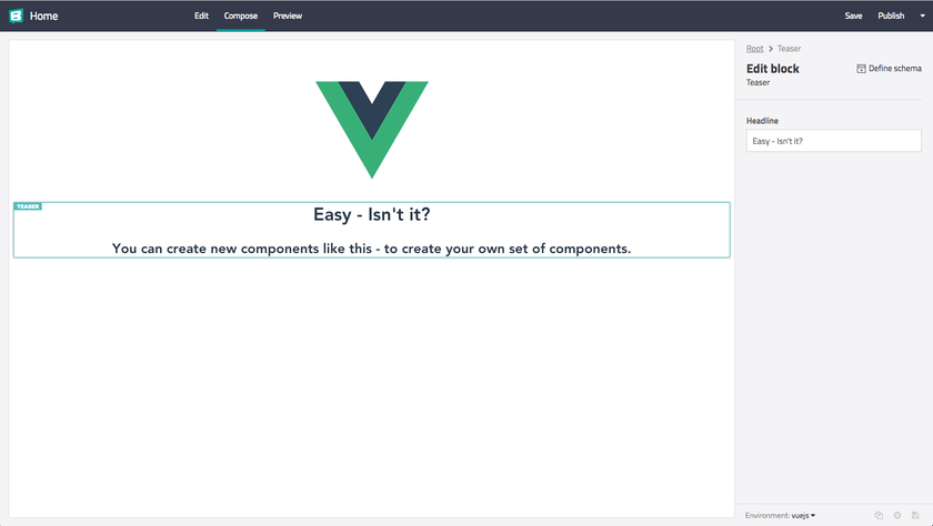 Add a headless CMS to VueJs in 5 minutes - Storyblok