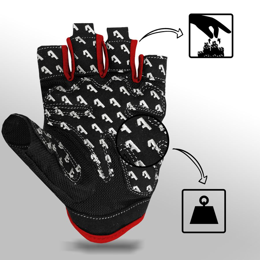 Alphachoice Slim-Fit Gloves Red - Featured Image
