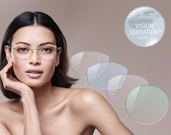 Eyewear offering a wide choice in terms of lens shape and coloring