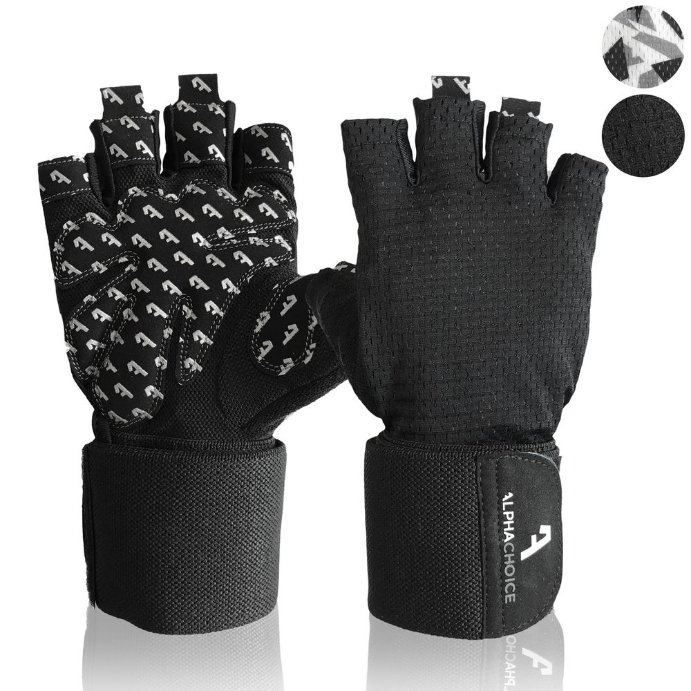 Alphachoice Performance Gloves Black - Featured Image