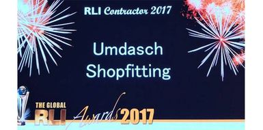 Umdasch Shopfitting is RLI Contractor of the Year