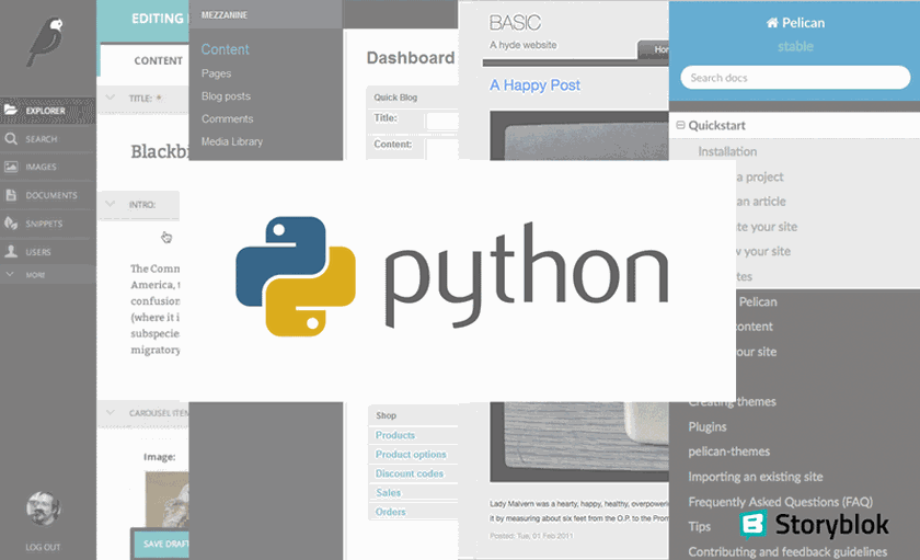 Wordpress alternatives python - Storyblok