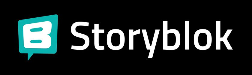 Storyblok Logo Dark Background