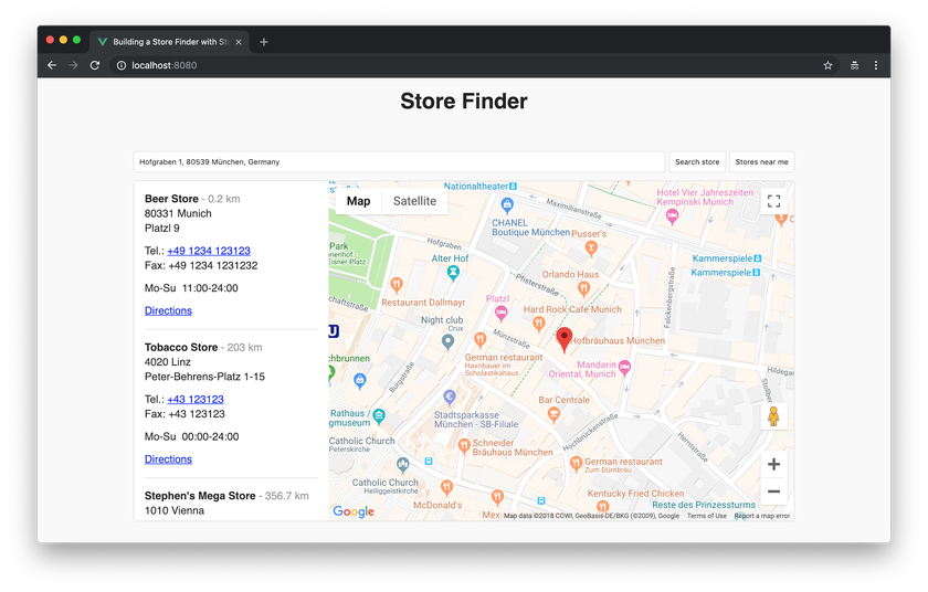 Building a Store Finder with Storyblok and Vue js - Storyblok