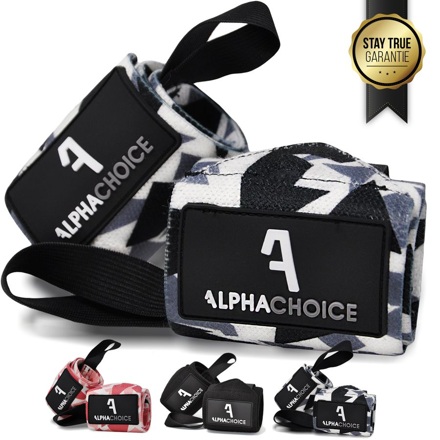 Alphachoice Handgelenksstützen Solid Wraps Camouflage - Featured Image