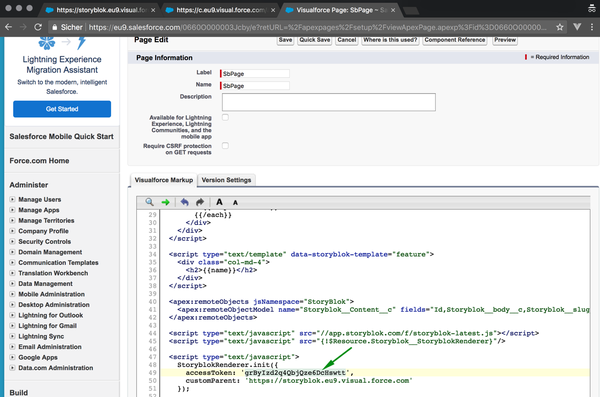 Add a CMS to Salesforce in 5 minutes - Storyblok
