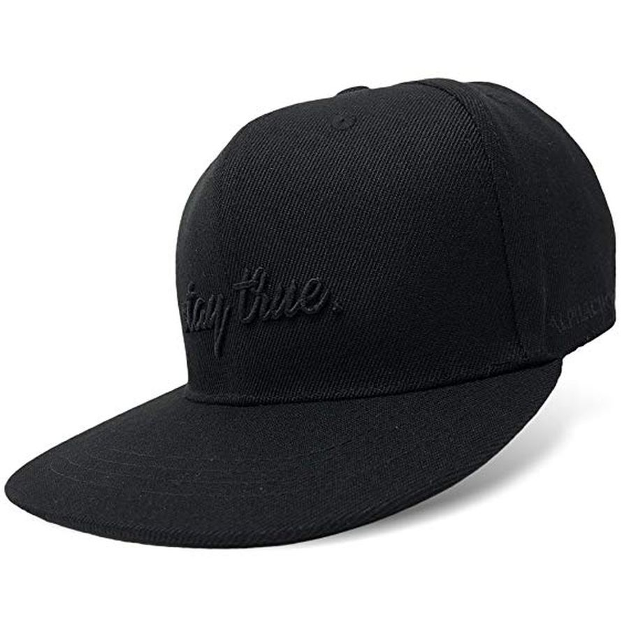 Alphachoice Stay True Cap Black - Featured Image