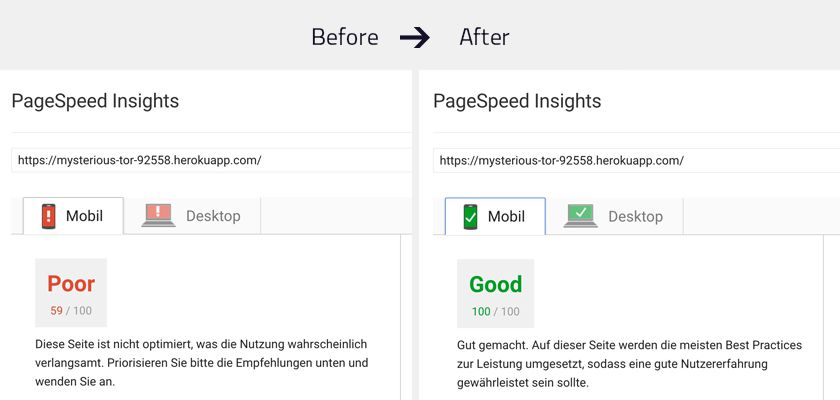 How to optimize your website to a Pagespeed of 100 - Storyblok