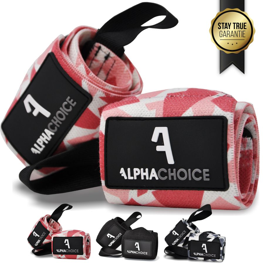 Alphachoice Handgelenksstützen Solid Wraps Rose Camouflage - Featured Image
