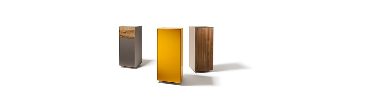 cubus pure Highboard in Farbglasvarianten © TEAM 7