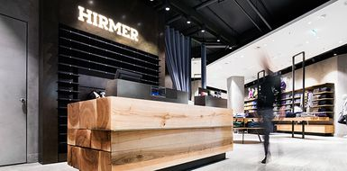 Hirmer: New furniture for the traditional fashion house in Munich
