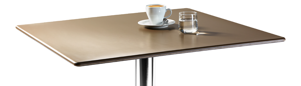 The tabletop Smartline is showing its clear and minimalistic side. © Topalit