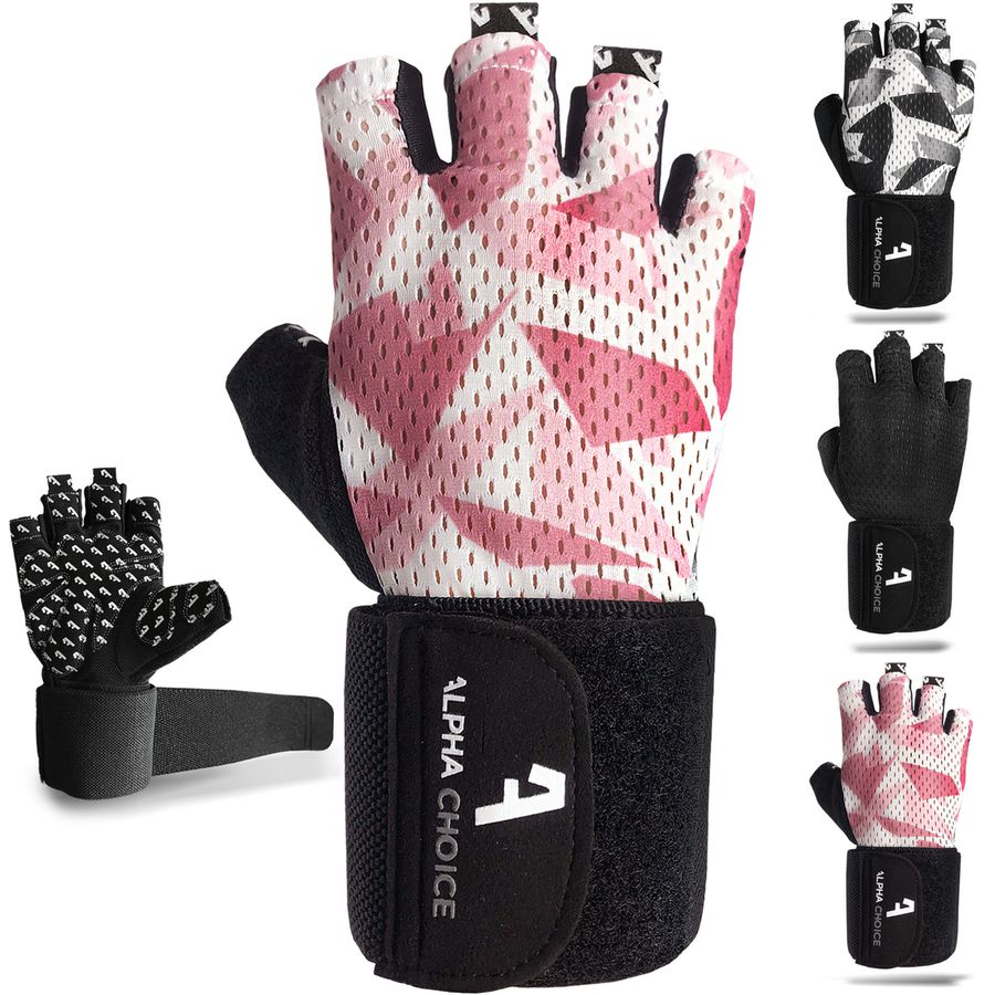 Alphachoice Performance Gloves Rosé Camouflage - Featured Image