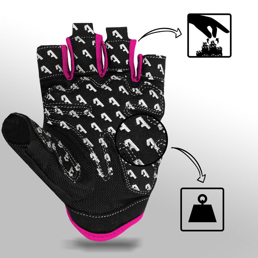 Alphachoice Slim-Fit Gloves Pink - Featured Image