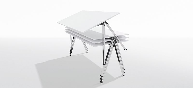 Award winner: yuno stacking table from Wiesner-Hager garners the Red Dot Award: Product Design 2017