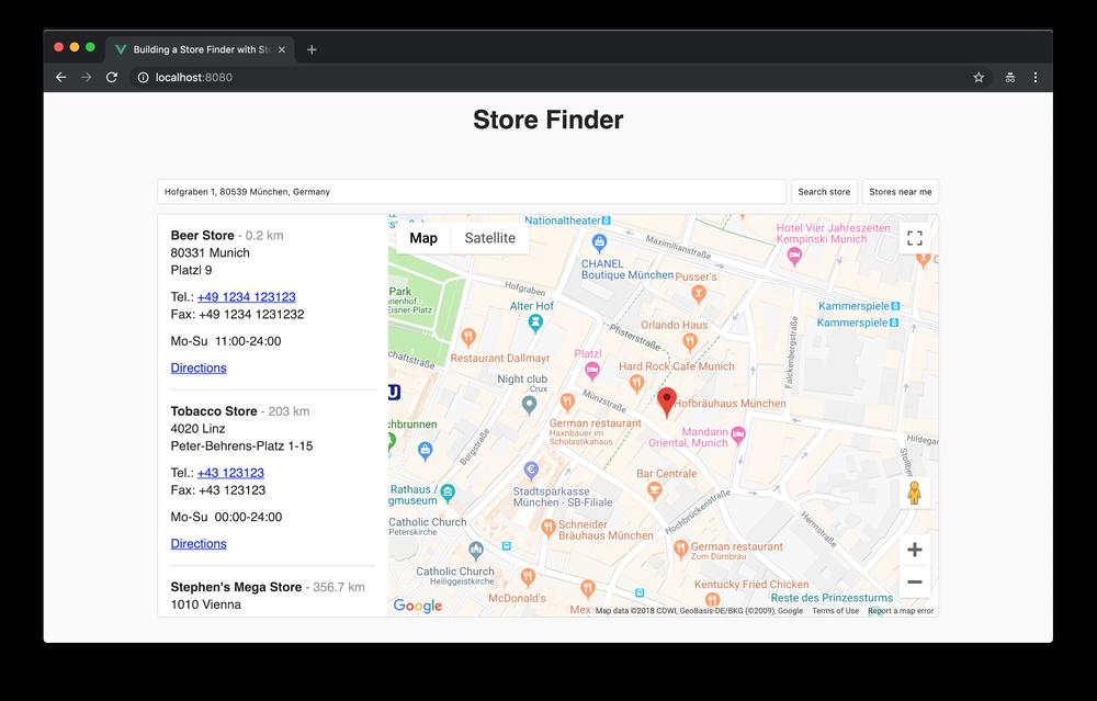 Building a Store Finder with Storyblok and Vue js - Storyblok